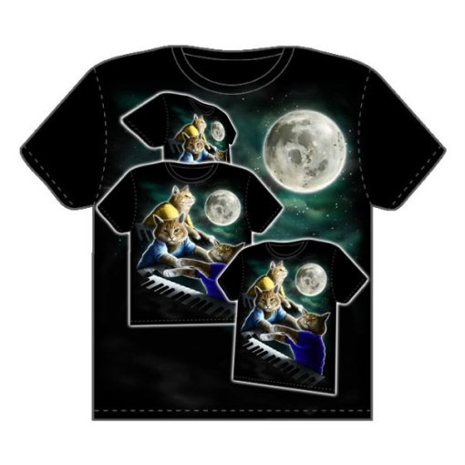 Three Meme Shirt Moon